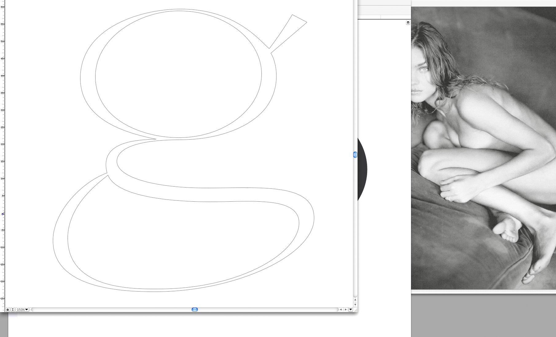 Girl 'g' · Screenshot During Drawing Process