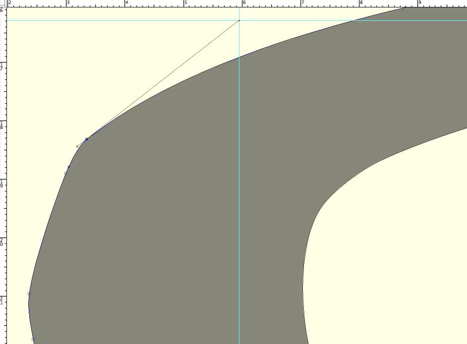 Jenson 'a' · Detail Bézier Curve