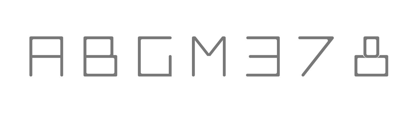 Block Typeface