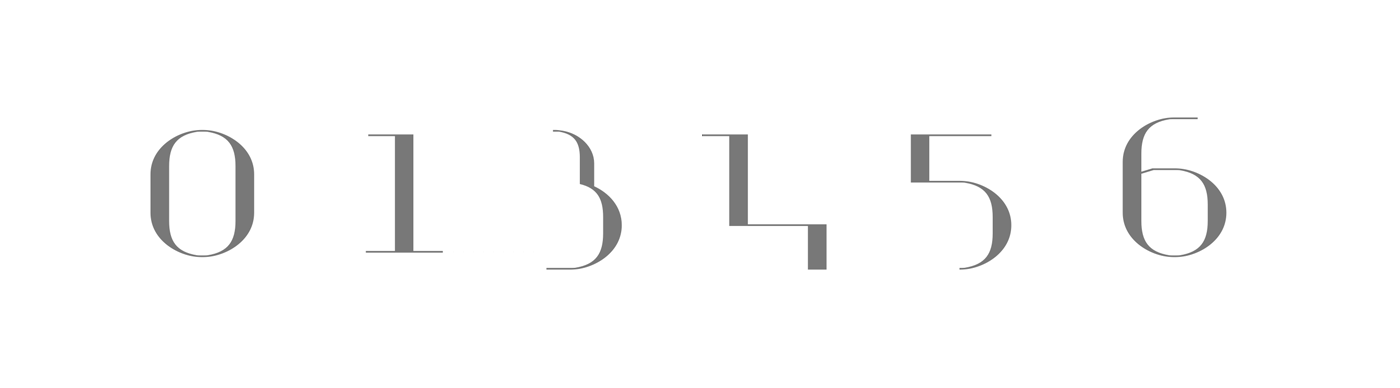 Ultra Didot Numbers