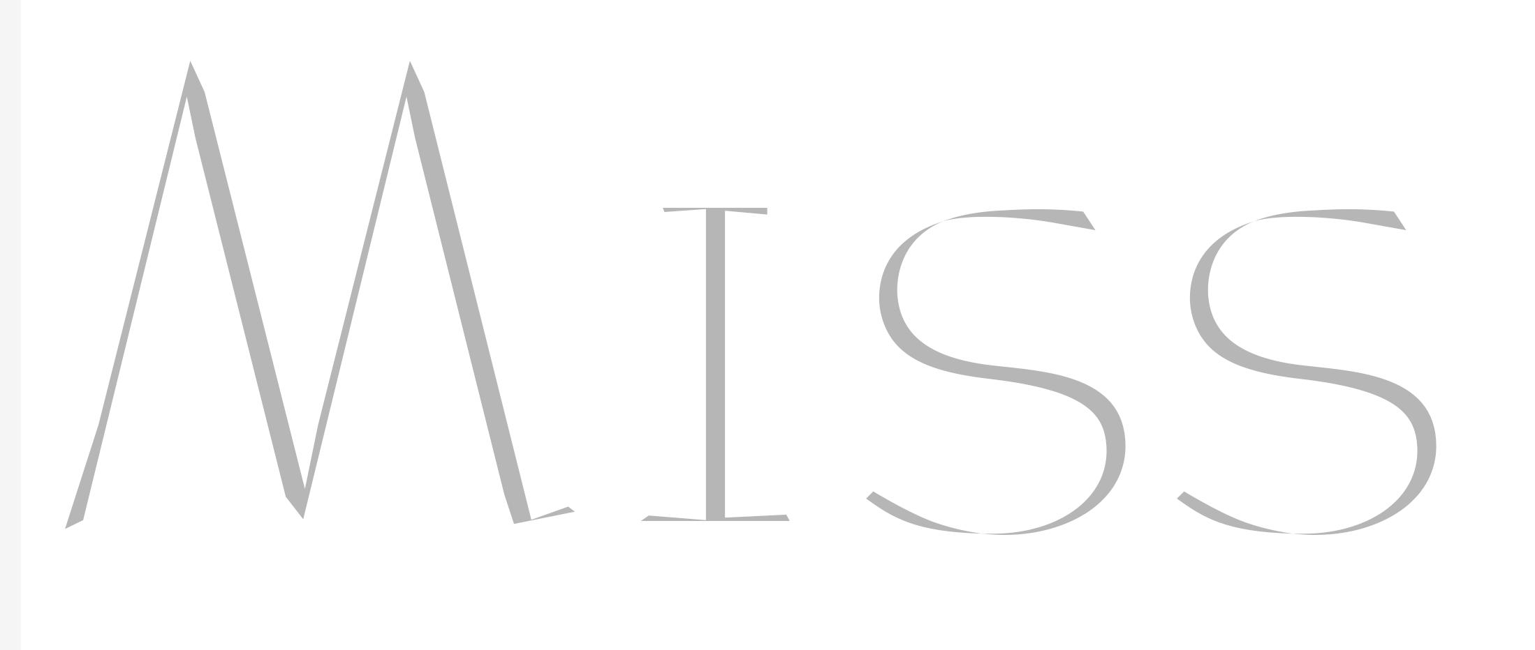 Miss Dior · Study (Detail)