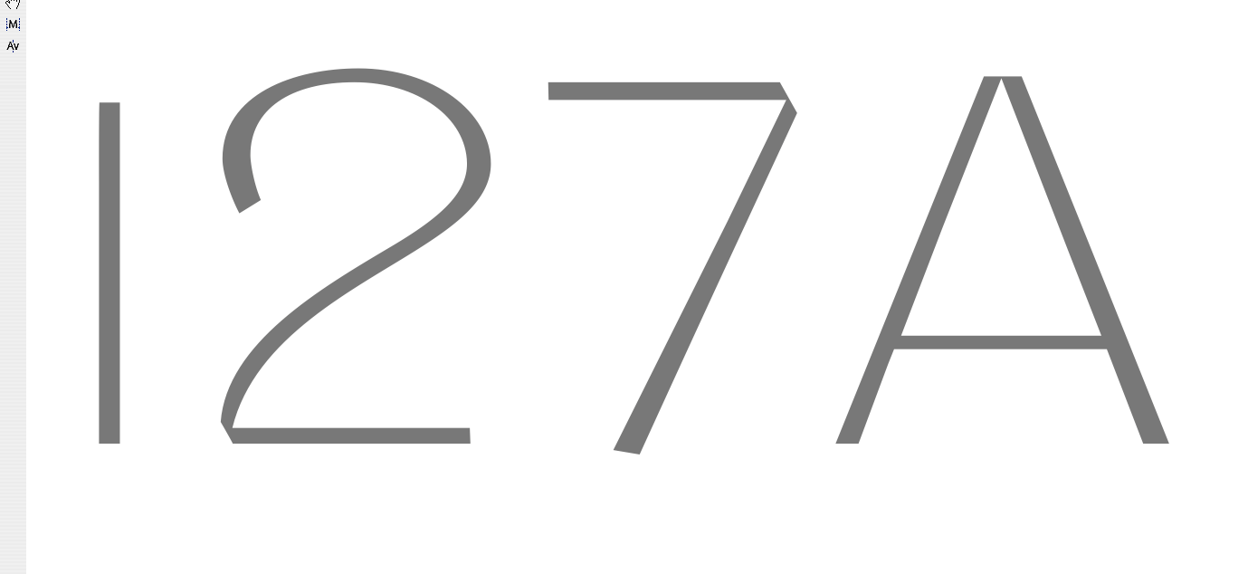 'I27A' · Vision Letters