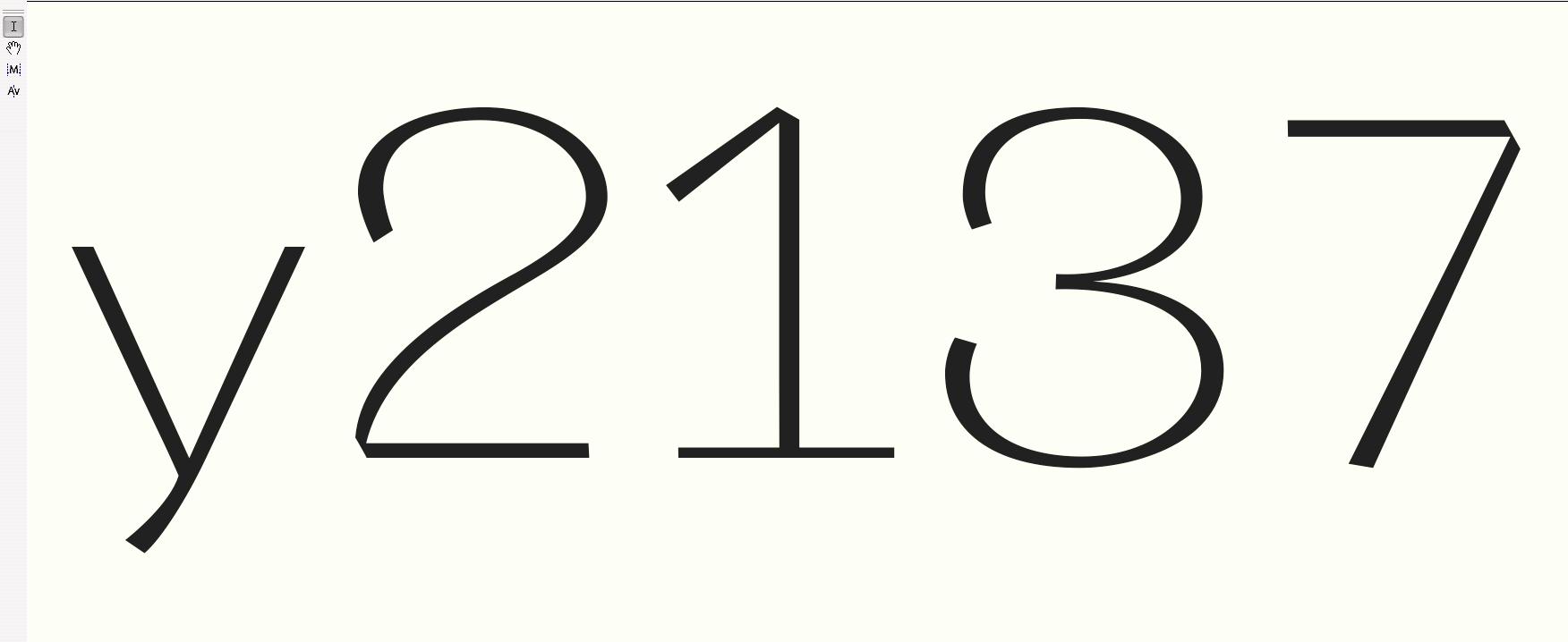 <em>Vision</em> Numbers Interim Results