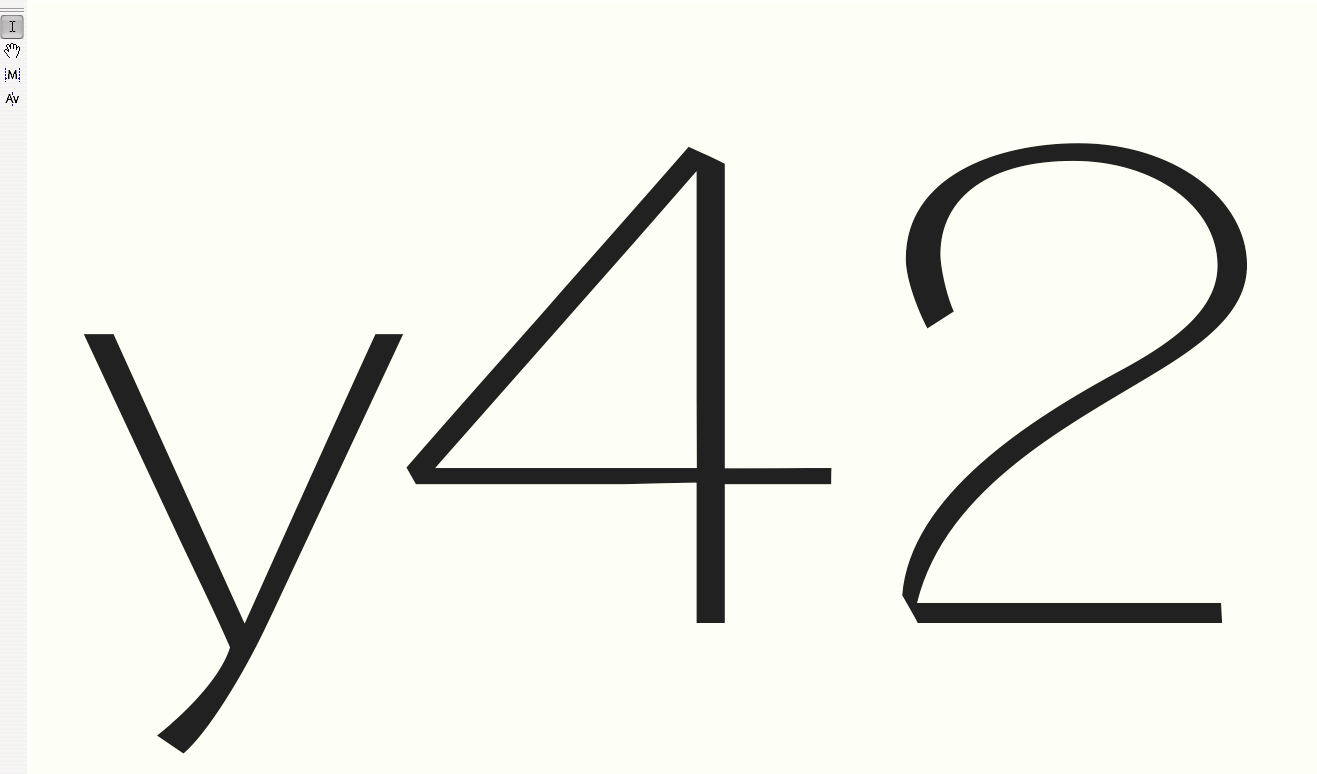 '<em>y42</em>' · '<em>2</em>': Unsatisfying Turning Zone