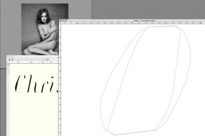 <em>Memoir Italic</em> Drawing Process