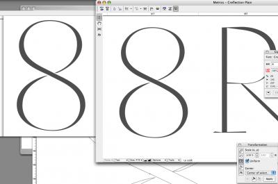 Working on <em>Reflection</em> '8'