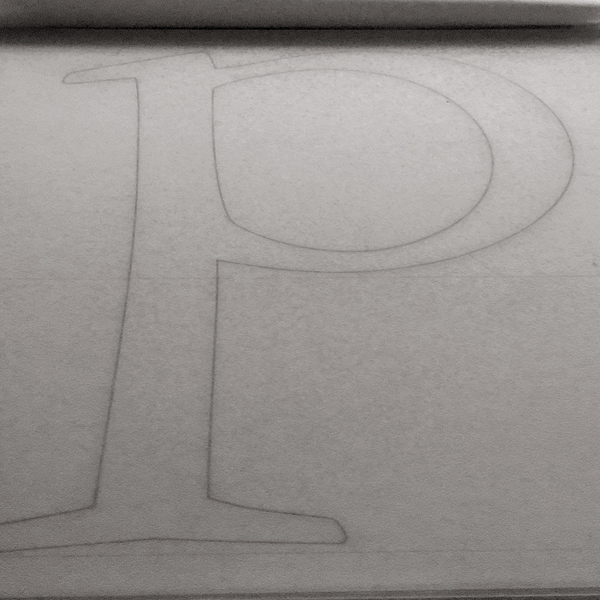 <em>Garamont</em>: My first letter drawings