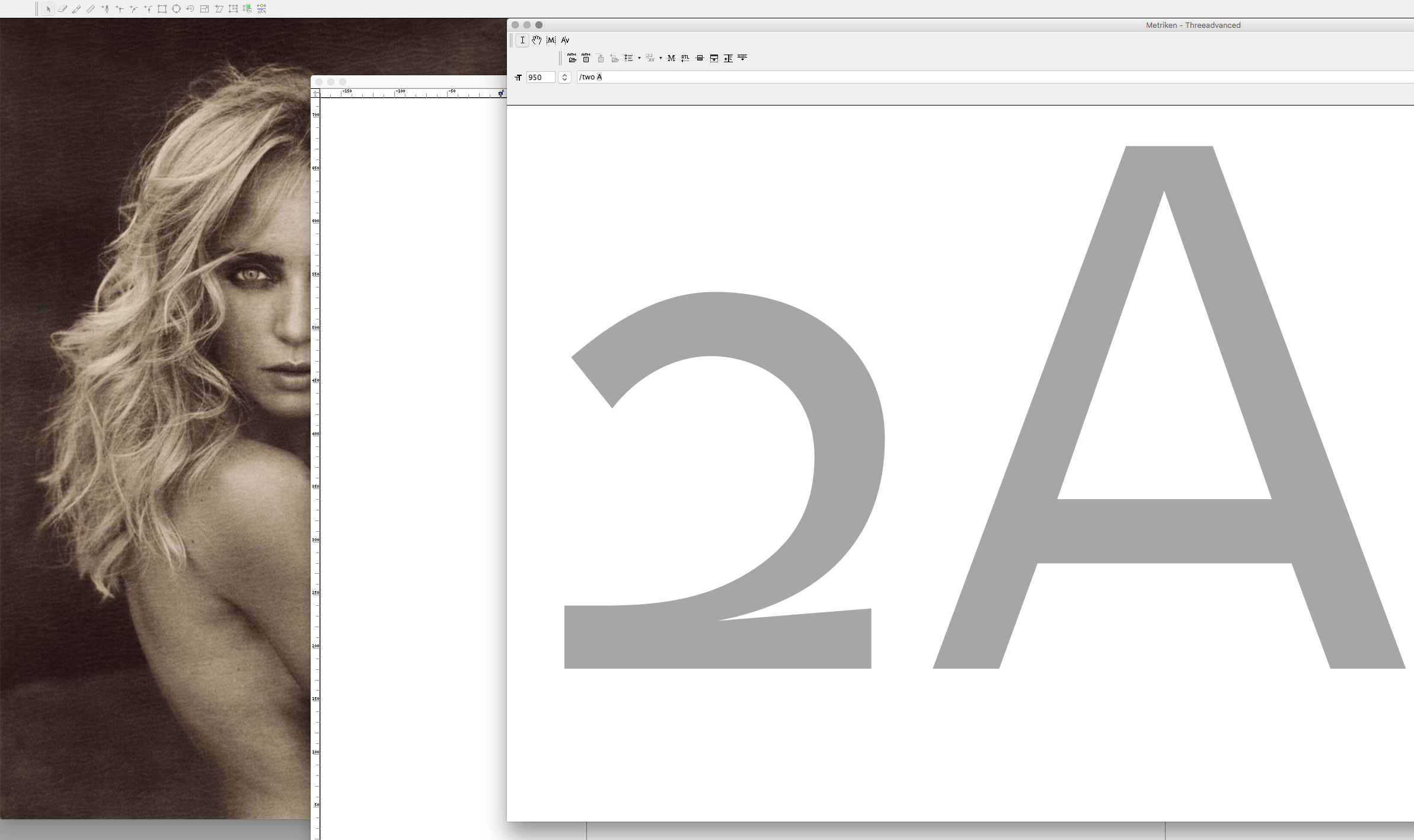 <em>Threeadvanced</em> '<em>2A</em>' · <em>Metrics</em> Window