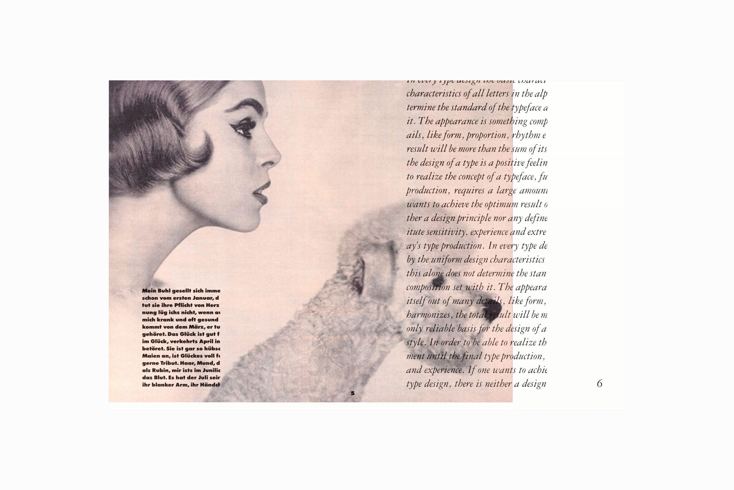 <em>Lay Lady Lay</em> · Magazine Layout
